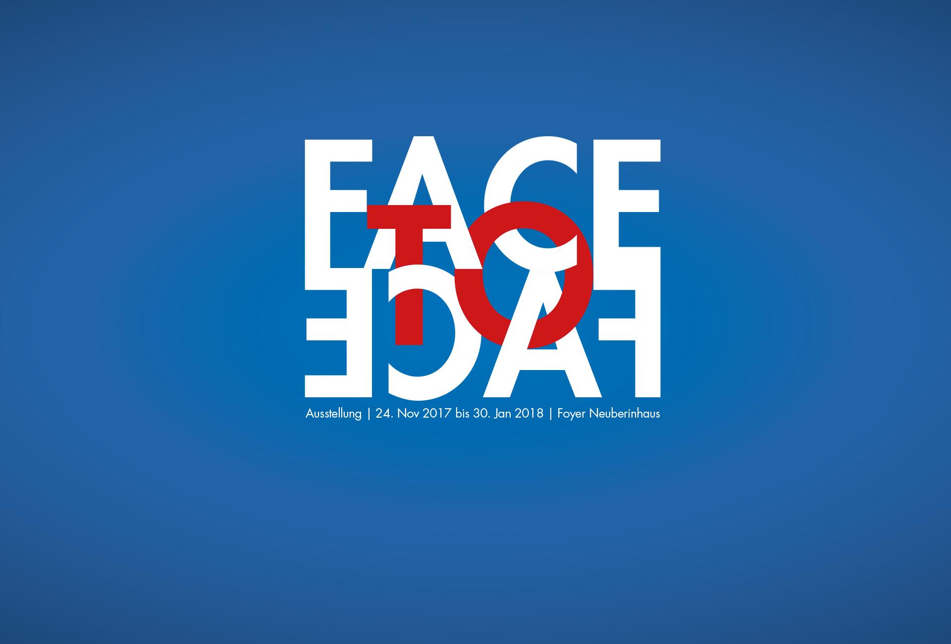 Titelbild der AUsstellung: Face to Face