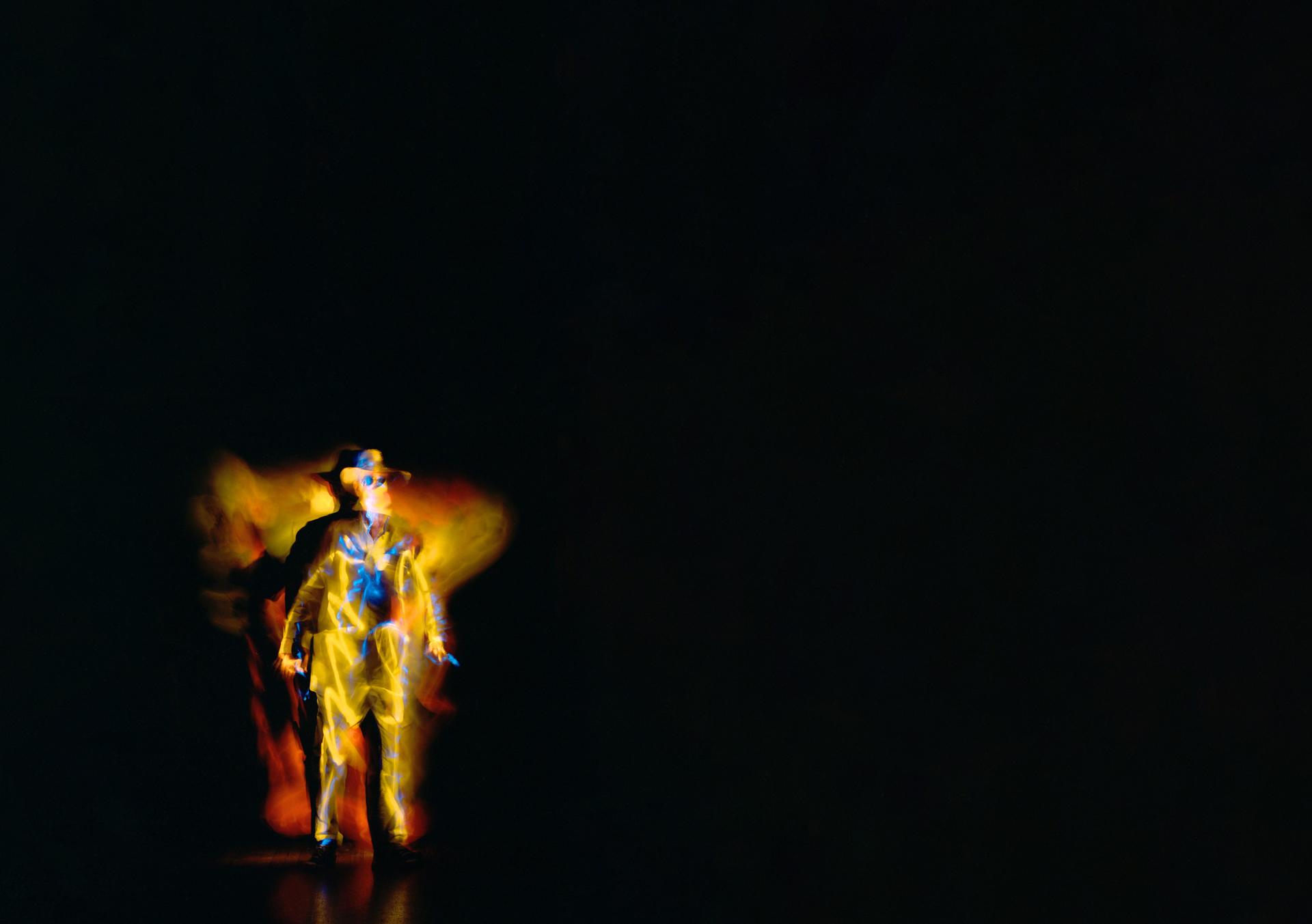 Titelbild der AUsstellung: Shot in the Dark